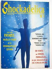 "Prince ""Shockadelica No 1"" 1998 French Magazine Poster For Prince Fans"