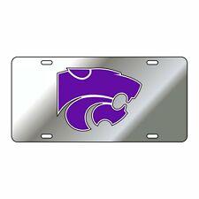 Kansas State Tag (Silver Refl Pur Power Cat Tag (21005)