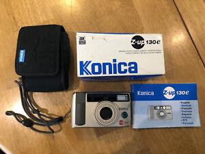 Konica Minolta Z-up 130 E 35mm Kompakt Filmkamera EX Zustand getestet