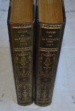 CONTES DE LA FONTAINE ILLUS. FRAGONARD ED GUILLOT 1926 REIMP. DIDOT 1795 2 VOL