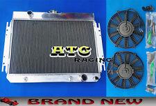 3 Core Aluminum Radiator & 2* Fans for 64-67 Chevy Chevelle/El Camino/Impala