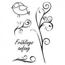Efco FRšHLINGSANFANG Stempel SET, clear stamp,4511238, A7, 5 - teilig