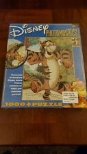 Disney Photomosaics Jigsaw Puzzle Tigger Winnie the Pooh Over 1000 Pieces 27x20