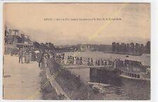 CPA 94480 ABLON SUR SEINE Arrivée bateau parisien pour le Parc de la Faisanderie