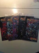 Mutant Chronicles Golgotha 1-4 Sourcebook Comic Set Mint Sealed Doomtrooper card