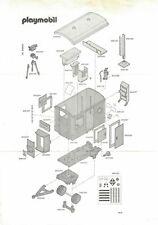 Playmobil Bauanleitung 3760 Baustellenanhänger