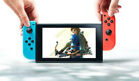 NEW Nintendo Switch Handheld System Console with Red & Blue Joy-Con 32GB