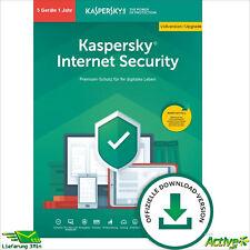 Kaspersky Internet Security 2021 5 PC 1Jahr VOLLVERSION / Upgrade 2022 DE-Lizenz