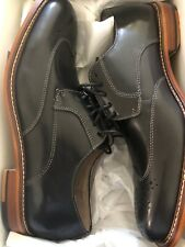 Men's Banana Republic DIGBY Oxford Sz 7.5 BLK Dress Leather Shoes