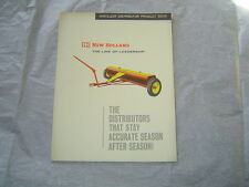 1964 New Holland 410 408 412 fertilizer distributor product feature book manual