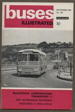BUSES ILLUSTRATED Blackpool Corporation Transport. Restoring Trolleybus  f2.164