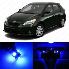 6 x Ultra Blue LED Interior Lights Package For 2009 - 2013 Toyota Matrix