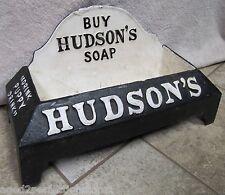 Buy HUDSON'S SOAP Cast Iron Advertising dog water dish bowl storefront display