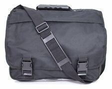 Mens Women's Satchel Shoulder Messenger Courier DISPATCH College School Uni Bag Black CB 055