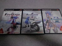 PS2 Xenosaga Episode I Reloaded & II & III 3 game set Japan PlayStation 2