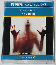 Psycho by Robert Bloch 2 audio cassettes BBC Radio 4 (2000) read by William Hope