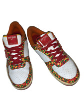 RARE PRO-KEDS Royal Court PM1394 Orange Red Green Men US 10.5 Sneakers - GOOD