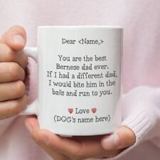 Personalized Bernese Mountain Dog Dad Gift Bernese Mountain Dog Dad Bernese