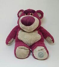 "Genuine LOTSO Bear Original Disney Store Toy Story 3 15"" Plush Strawberry Scent"