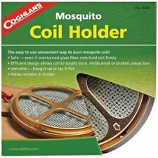 Coghlans Mosquito Midge Insect Repellant Coil Holder + 10 Coils Pack