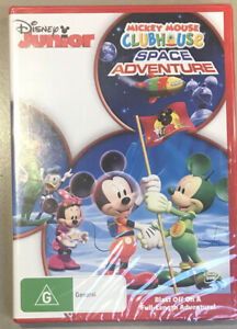 New Sealed MICKEY MOUSE CLUBHOUSE Space Adventure R4 Disney DVD FREE POST