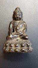 1 INCH MINIATURE METAL BUDDHA FROM THAILAND