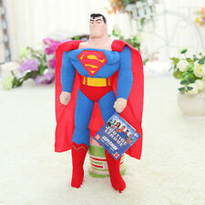 Justice League Superman 17'' Soft Stuffed Toy Plush Doll Gift Figure Gift Boy