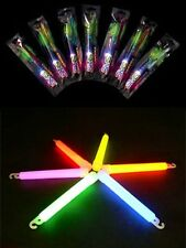 """10pcs 6"""" Retail package Halloween Party Thick Glow Party Stick, Multi-color"""