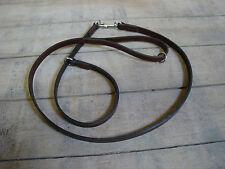ST1 Bridle Leather Dog Collar & Lead Set Lurcher/Gundog/Spaniel/Labrador/Terrier