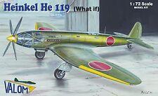 "Valom 1/72 Kit Modelo 72101 Heinkel He 119 ""qué pasaría si"" Japón"