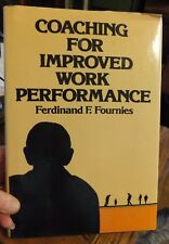 COACHING FOR IMPROVED WORK PERFORMANCE FERDINAND F. FOURNIES SIGNED HC W/DJ 1978