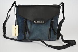 DIESEL INDUSTRIAL DENIM JEMMIA Women's ONE SIZE Leather Crossbody Bag 34846-GS