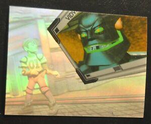 1995 Fleer Ultra Reboot Holoblast #1 Enzo and Megabyte Hologram