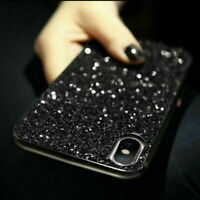 Shockproof Bling Glitter Diamond Sparkle Hard Case For iPhone XS Max For Samsung