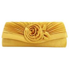 Clutches Bag for Women Flower Clutch Bride Wedding Bags Prom Club Shoulder Chain