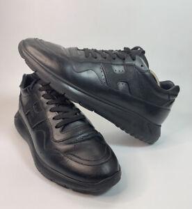 Hogan MEN'S Leather Shoes Sneakers Size 9