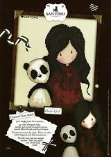 BOTHY THREADS GORJUSS PANDA GIRL COUNTED CROSS STITCH KIT - XG28 NEW 2015