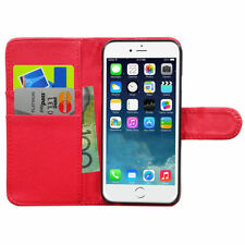Synthetic Leather Mobile Phone Wallet Cases for Apple