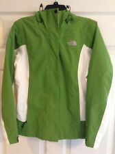Womens North Face Jacket Green & White Size Small