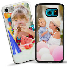 PERSONALISED Custom Printed PHOTO Phone Case Cover Fits IPHONE & GALAXY