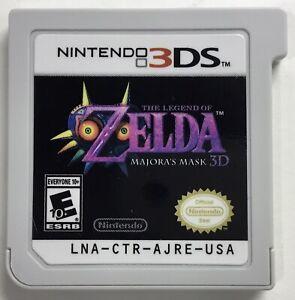 The Legend of Zelda - Majora's Mask 3D (2014 Nintendo 3DS) * Cartridge Only*