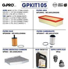 KIT TAGLIANDO AUDI A3 - GOLF V 1.9 TDI  + 5 LT DI OLIO + TAPPO COPPA OLIO