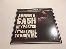 Johnny Cash 45 Record Hey Porter b/w It Takes One to Know One 2005 Promo