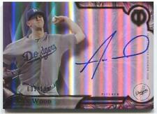 Alex Wood 2016 TOPPS TRIBUTE BASEBALL AUTO Los Angeles Dodgers Signed Autograph
