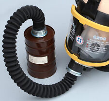 50mm Ruber Hose Tube Connection For Respirator Gas Mask Gas Mask And Filter BLK