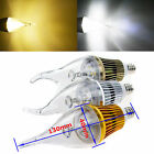 E12 E14 E27 6W Dimmable Flame High Power Chandelier LED Candle Light Bulb White