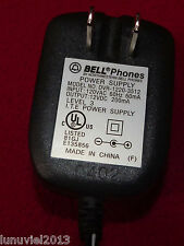 Bell Phones Dvr-1220-3512 Power Supply Adapter Input: 120Vac Output: 12Vdc