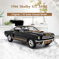 Collectibles 1966 Ford Shelby Mustang GT 350H Muscle Car 1/18 Diecast Model