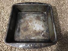 "Bake King Square Baking Pan #228 Pure Aluminum 8 x 8 x 2"" Vintage Brownie Pan"