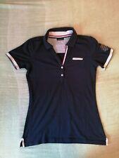 Napapijri Damen Poloshirt Gr M Blau, Baumwolle - TOP!!!
